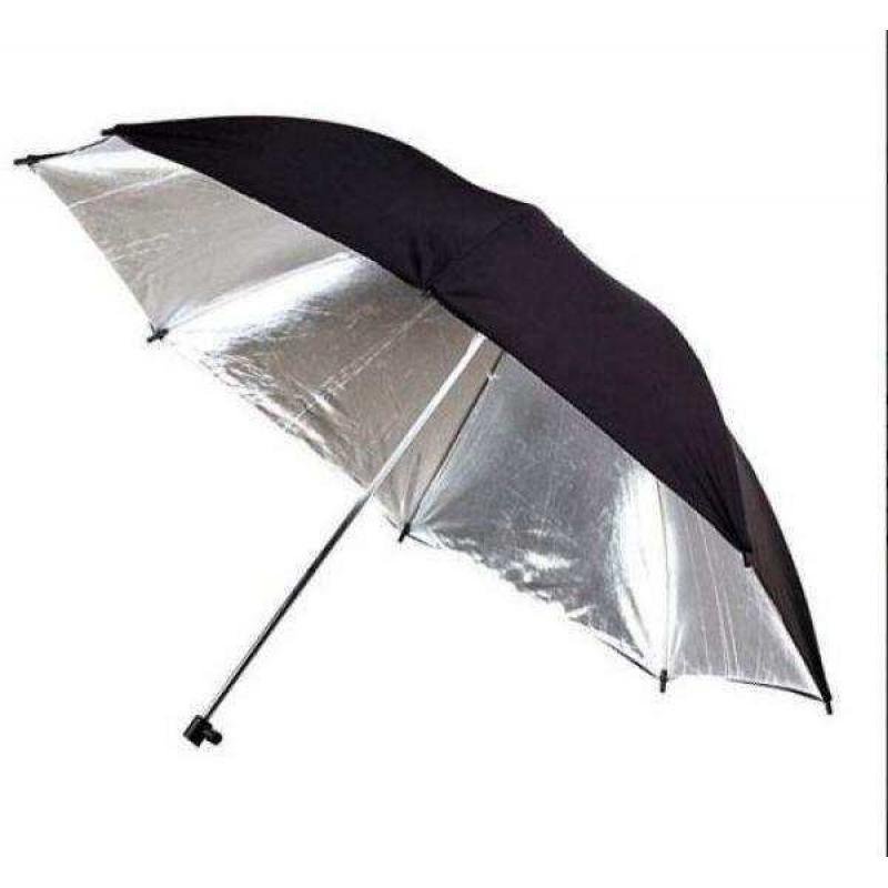 Detached Umbrella Black/Silver 33