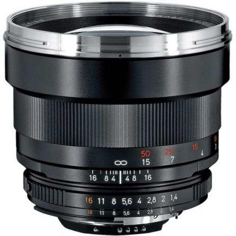 Zeiss 85mm f/1.4 Planar T* ZF.2 Telephoto Lens for Nikon F (AI-S) Bayonet