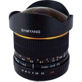 Samyang 8mm F/3.5 Fisheye Lens VDSLR Version