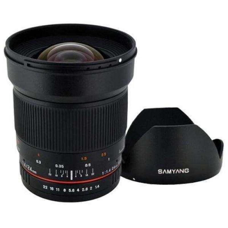 Samyang 24mm F/1.4 Wide Angle Lens
