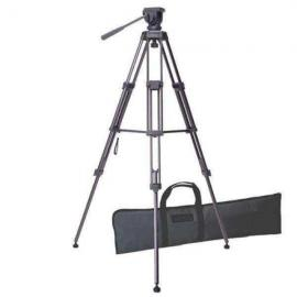 Libec TH-650DV Tripod with Brace, Pan Handle & Carrying Case