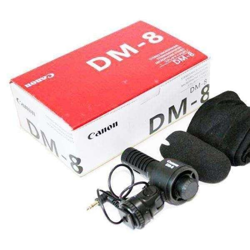Canon DM-8 Stereo Microphone