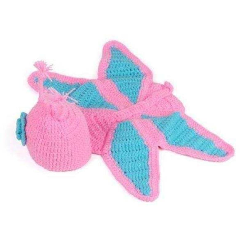 Baby Girl Crochet Butterfly
