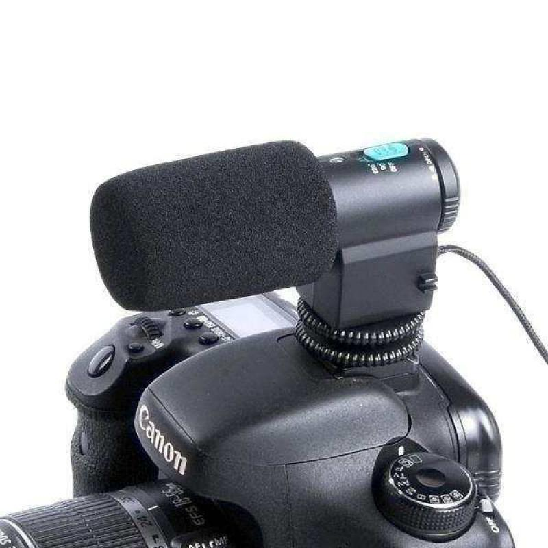 MIC-109 Mini External Stereo Microphone