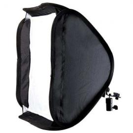 50 by 50 Softbox For Speedlight With Mounting Bracket