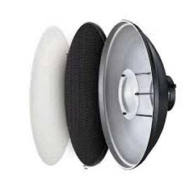 Beauty Dish With Grid 50cm