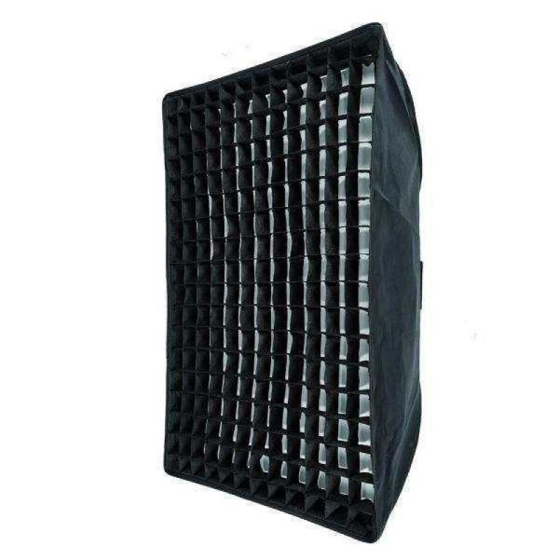 Softbox with Grid 80 by 120cm Bowens Mount