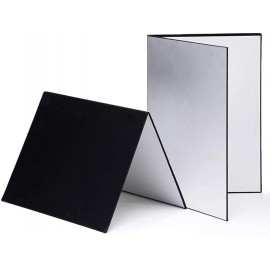 3 in 1 Photography Reflective Bounce Card A4 Size