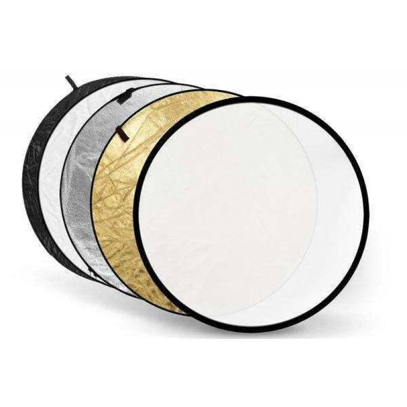 5 in 1 Collapsible Reflector 110 cm