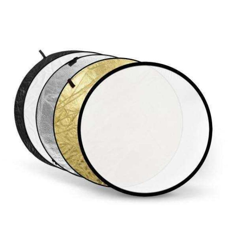 5 in 1 Collapsible Reflector 75 cm
