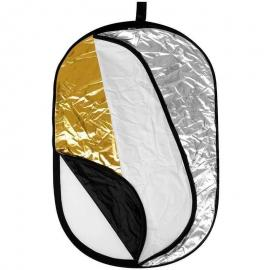 5 in 1 Collapsible Reflector 150 by 200 cm