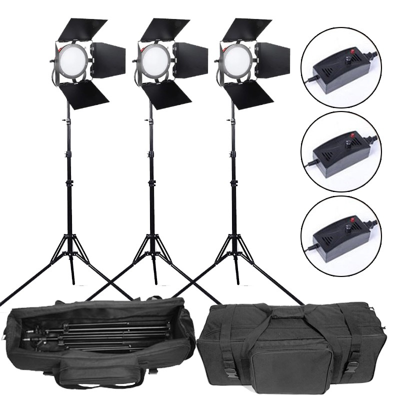 55w Led Read Head Dimmable Continuous Light Pack of 3