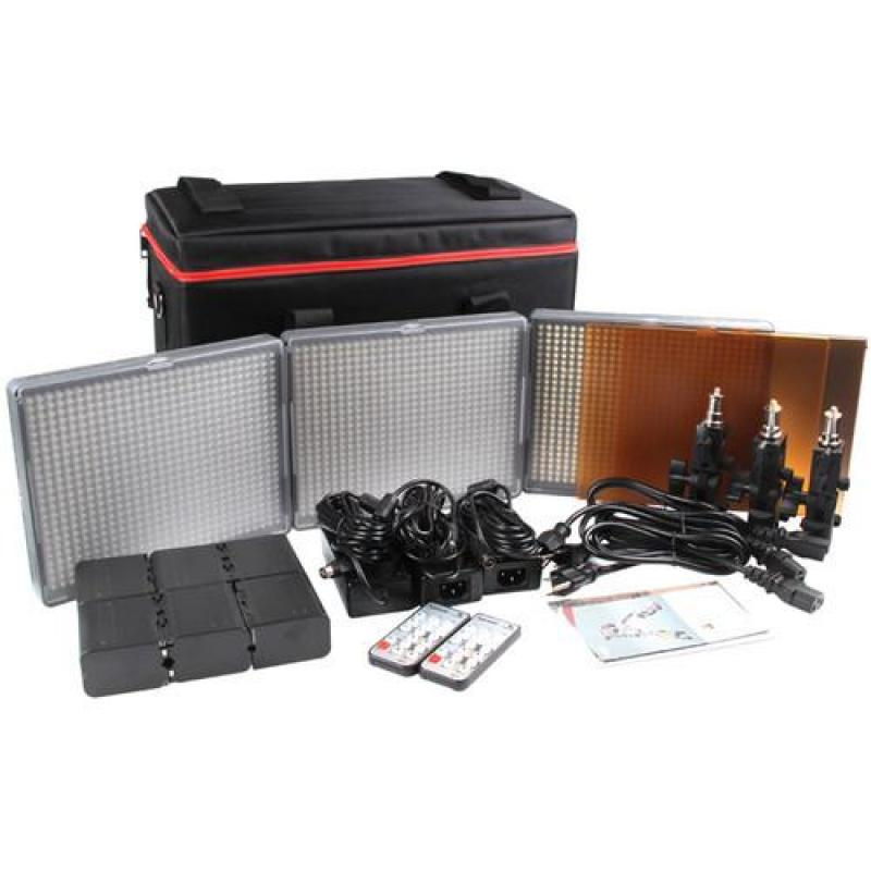 Aputure 672 LED set HR672KIT-SSC