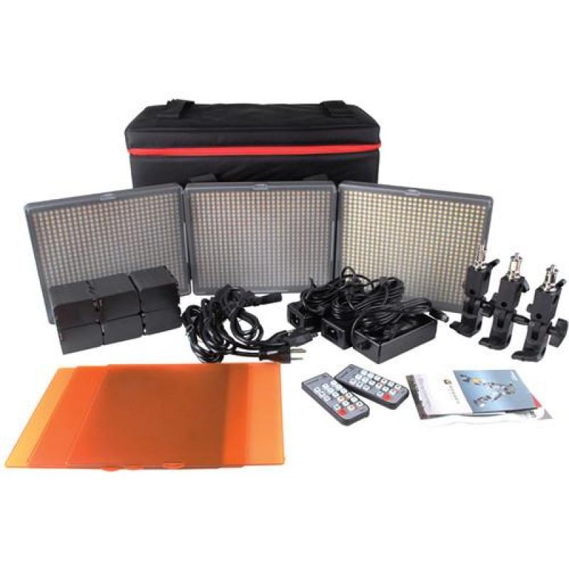 Aputure 672 LED set HR672KIT-WWS/SSW