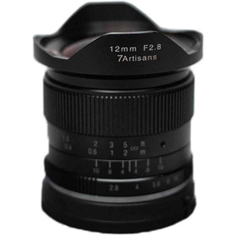 7artisans 12mm f/2.8 Lens for MFT Mount