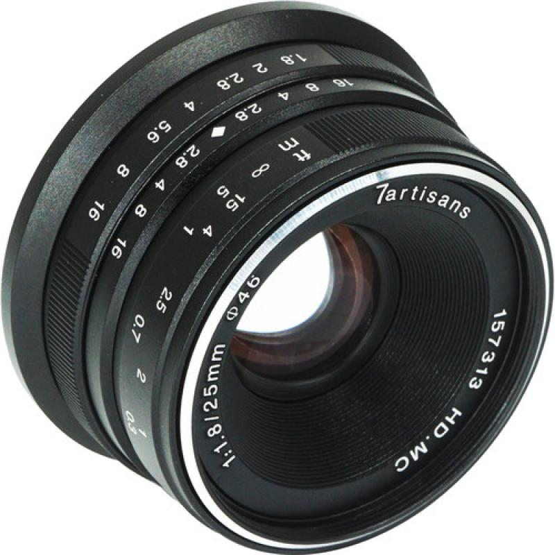 7artisans 25mm f/1.8 Lens for MFT Mount