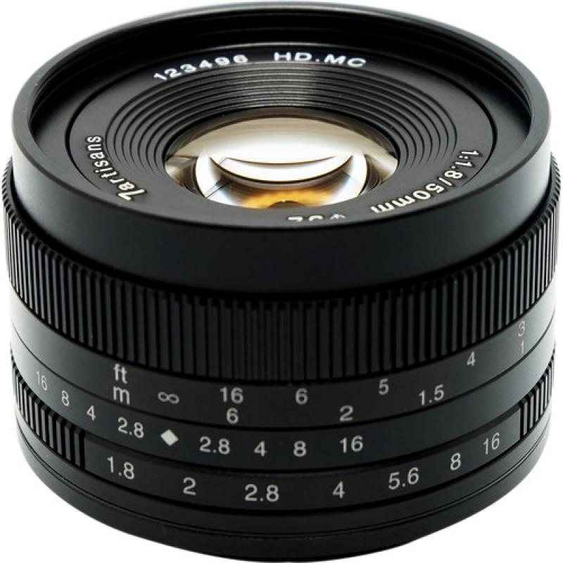 7artisans 50mm f/1.8 Lens for Sony E