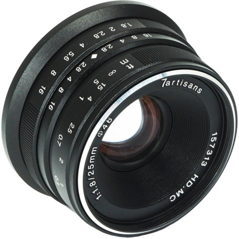 7artisans 25mm f/1.8 Lens for Fujifilm X