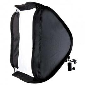 80 by 80 Softbox for Speedlight With Mounting Bracket