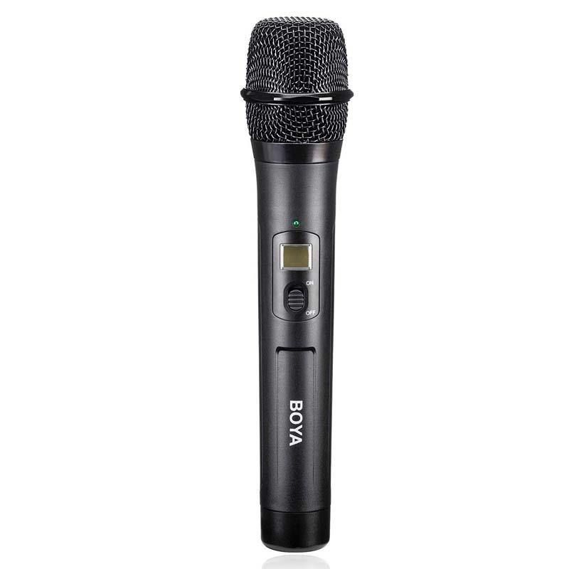 BOYA BY-WHM8 48-Channel UHF Wireless Dynamic Handheld Microphone Transmitter