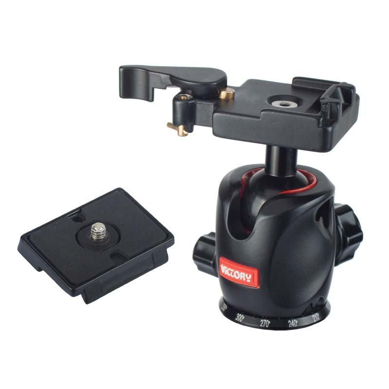 Ball Head+Quick Release Plate for DSLR