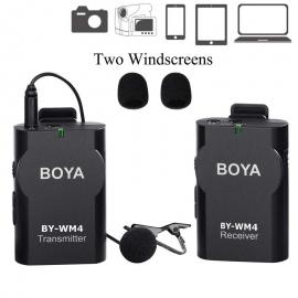 BOYA BY-WM4 Universal Lavalier Wireless Microphone
