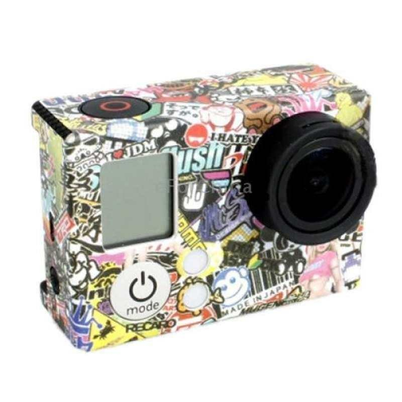 Cartoon Graffiti Sticker For Gopro