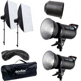 GODOX DE-300 Strobe Light Kit