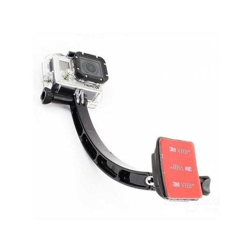 Helmet Arm With Mounts For Gopro