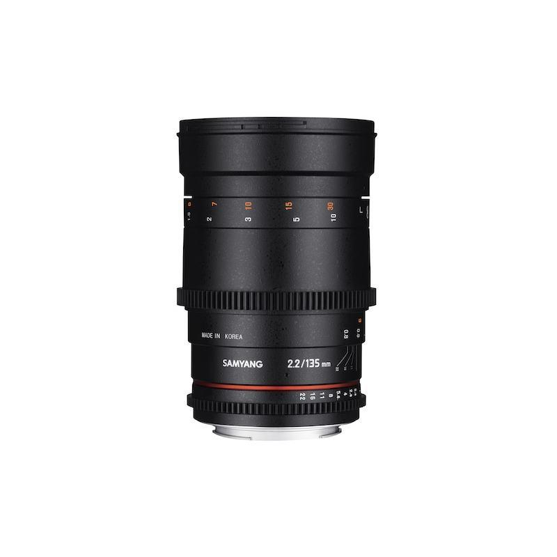 SAMYANG 135mm T2.2 AS UMC VDSLR II Lens