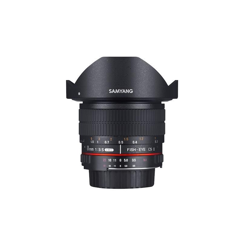 SAMYANG 8mm F3.5 CSII AE Fisheye Lens for Nikon