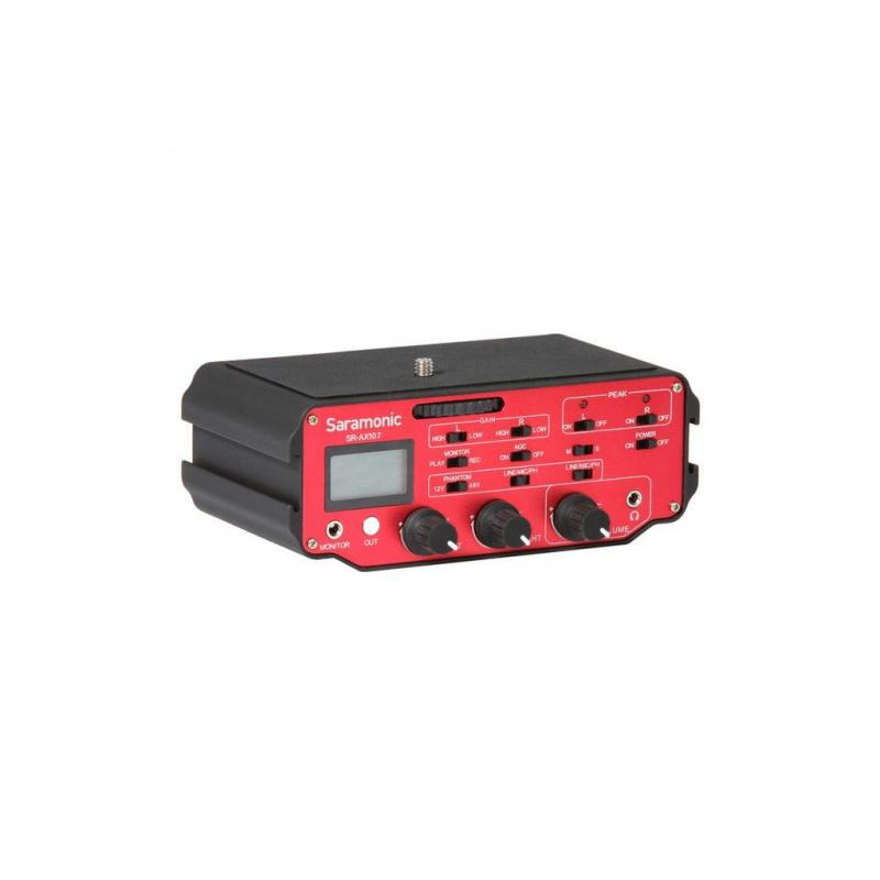 SR-AX107 Audio Adapter for 2-channel XLR Inputs with Preamplifiers