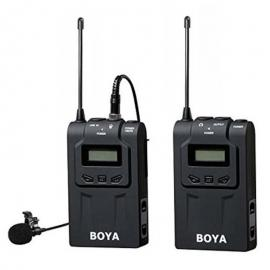 BOYA BY-WM6 UHF Wireless Lavalier Microphone System