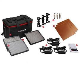 Aputure 528 LED Set 528KIT-CSW