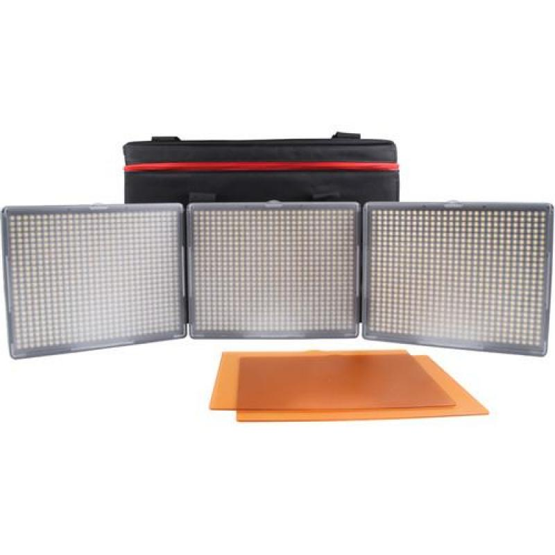 Aputure 672 LED set HR672KIT-CCC
