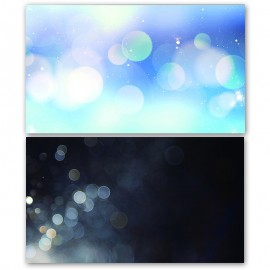 Black and Blue Bokeh Double Sided Background for Product Photography