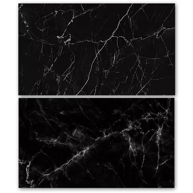 Black Marble Double Sided Background for Product Photography