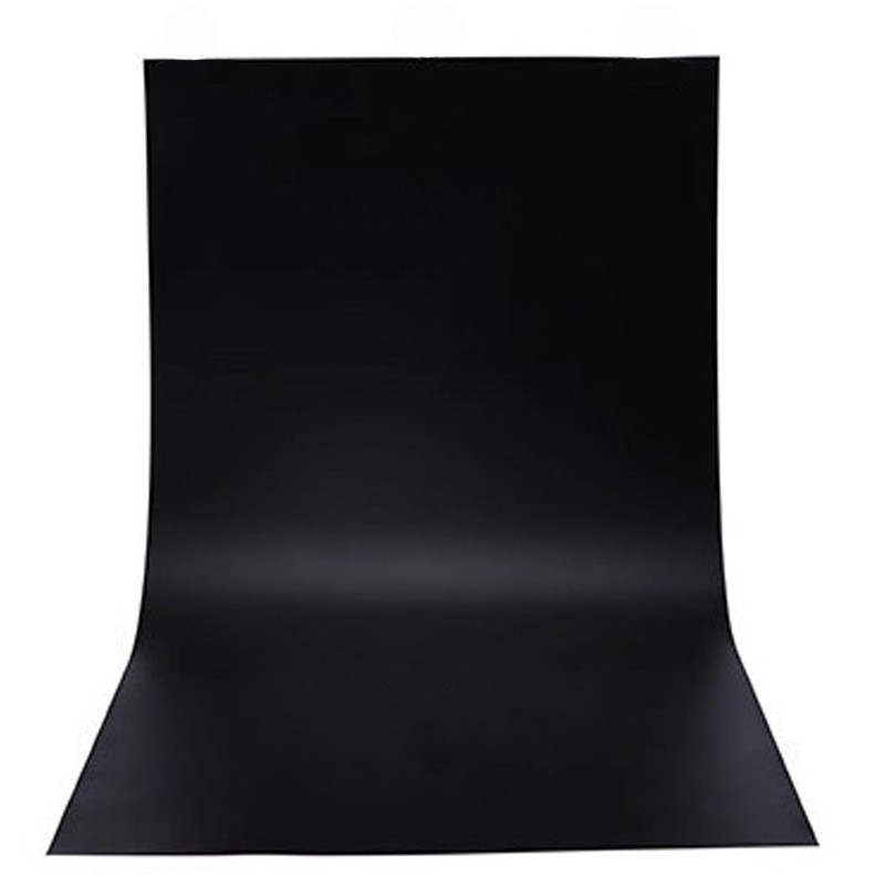 Black PVC Backdrop Sheets