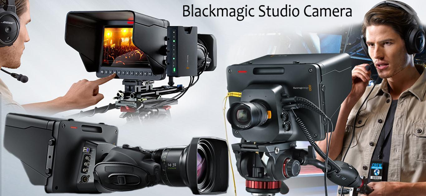 Blackmagic Design Studio Camera 4K – A Matchless Studio Solution For Professionals!