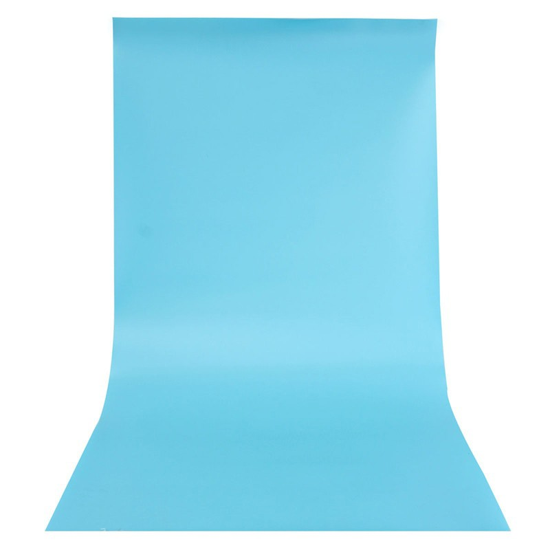 Blue PVC Backdrop Sheets