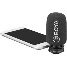 BOYA BY-DM200 Plug-In Microphone for iOS Devices