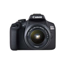 Canon EOS 2000D with 18-55mm Lens