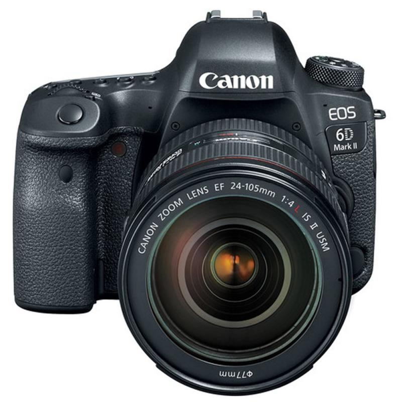 CanonEOS 6D Mark II DSLR Camera with 24-105mm f/4 Lens