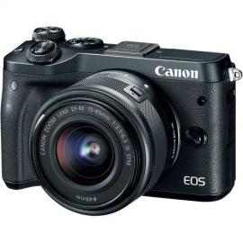 CanonEOS M6 Mirrorless Digital Camera with 15-45mm Lens