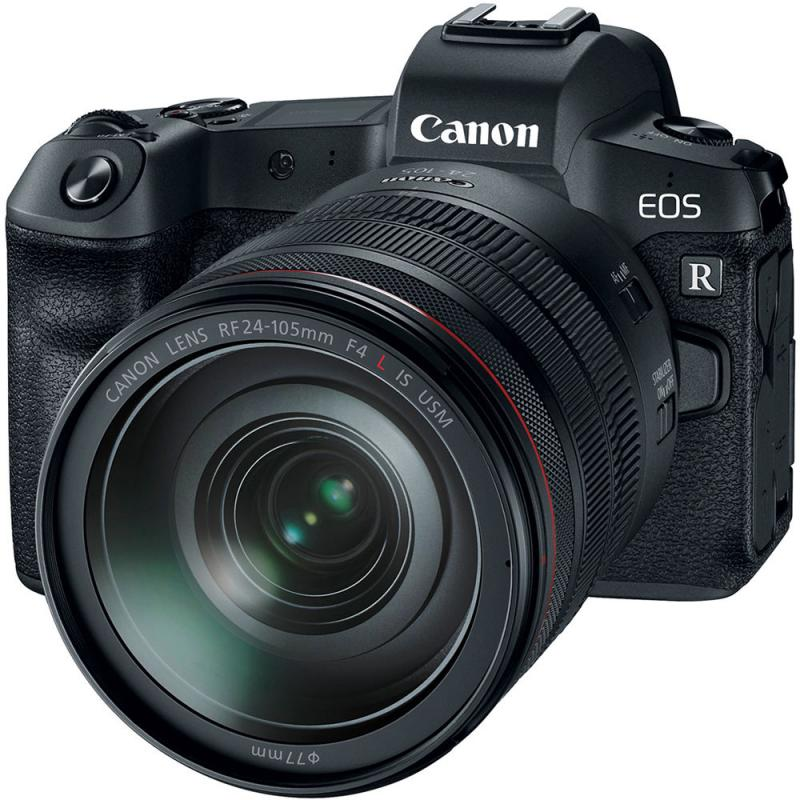 Canon EOS R Body with 24-105mm Lens and EF Adapter with 85mm Lens