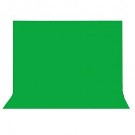 Chromakey 3 by 6 meter Green Cloth Studio Backdrop