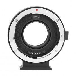Commlite Auto Focus EF to MFT Speed Booster Adopter