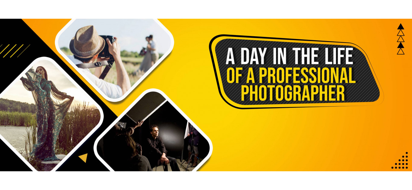 A Day In The Life Of A Professional Photographer