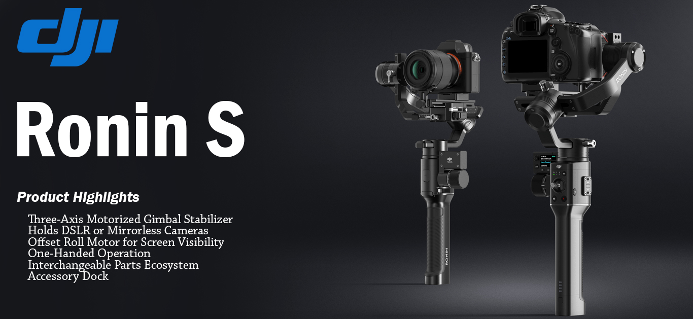 Newly Launched Product by DJI Called DJI Ronin S
