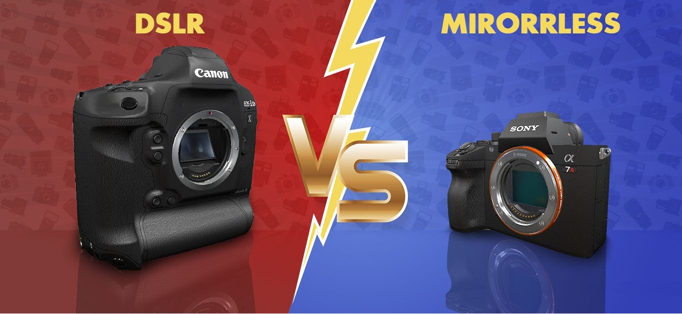 DSLR Vs Mirrorless Cameras: Which is the Best?